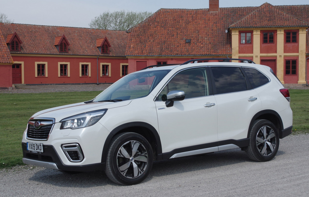 First Test: Subaru Forester e-Boxer