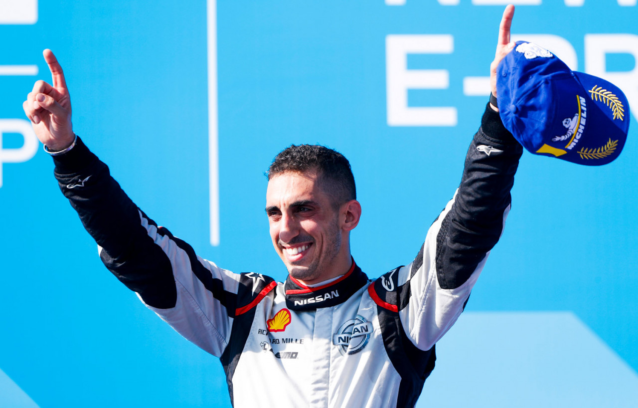 2019-FE-New-York-Buemi-podium
