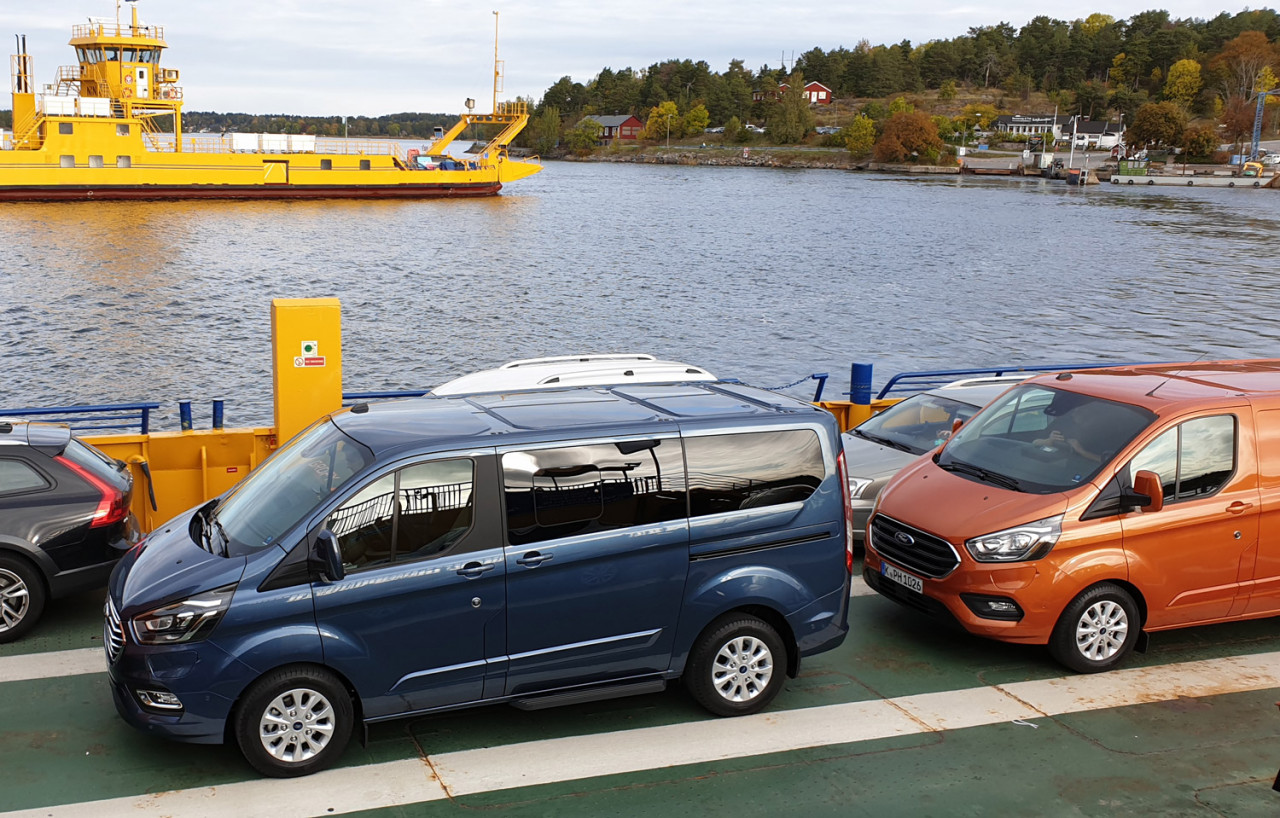 First World Test: Ford Transit og Tourneo PHEV