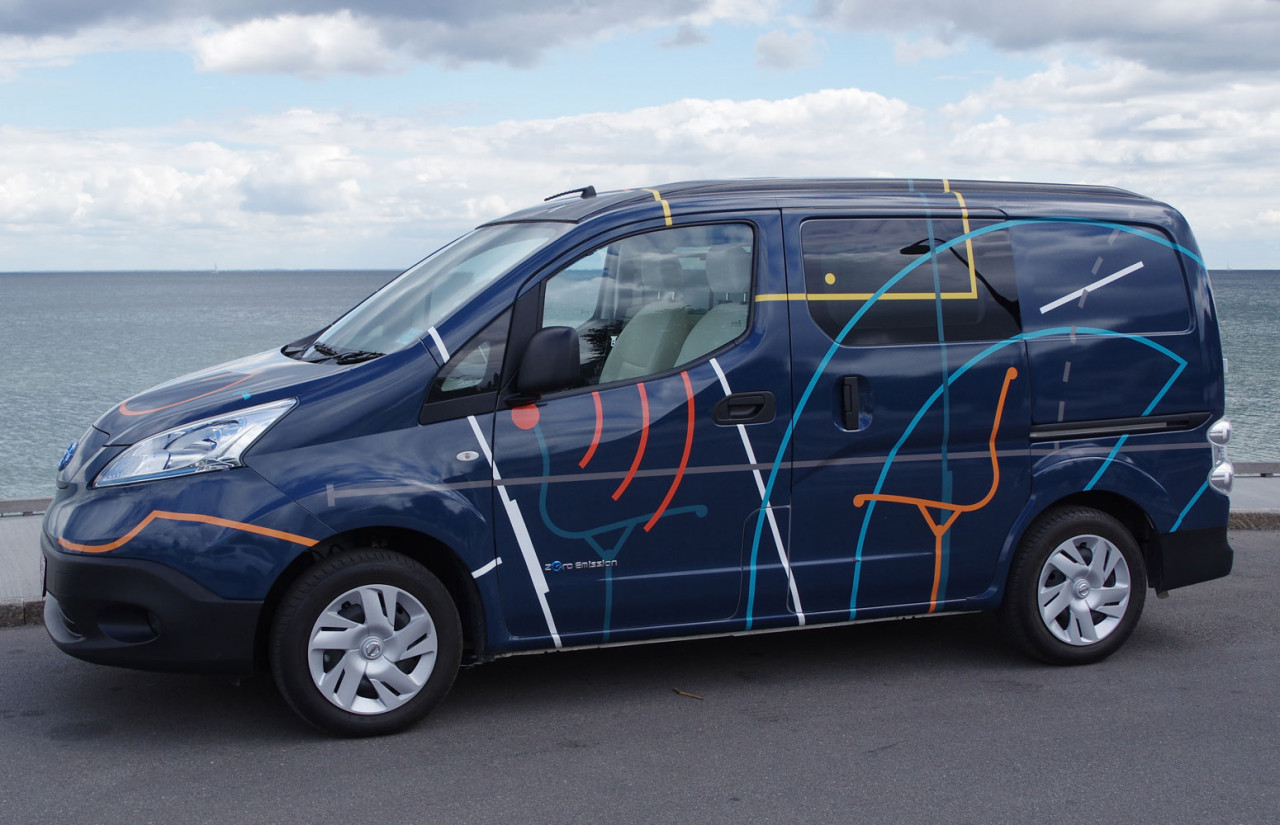 Kort test: Nissan e-NV200 Workspace concept car