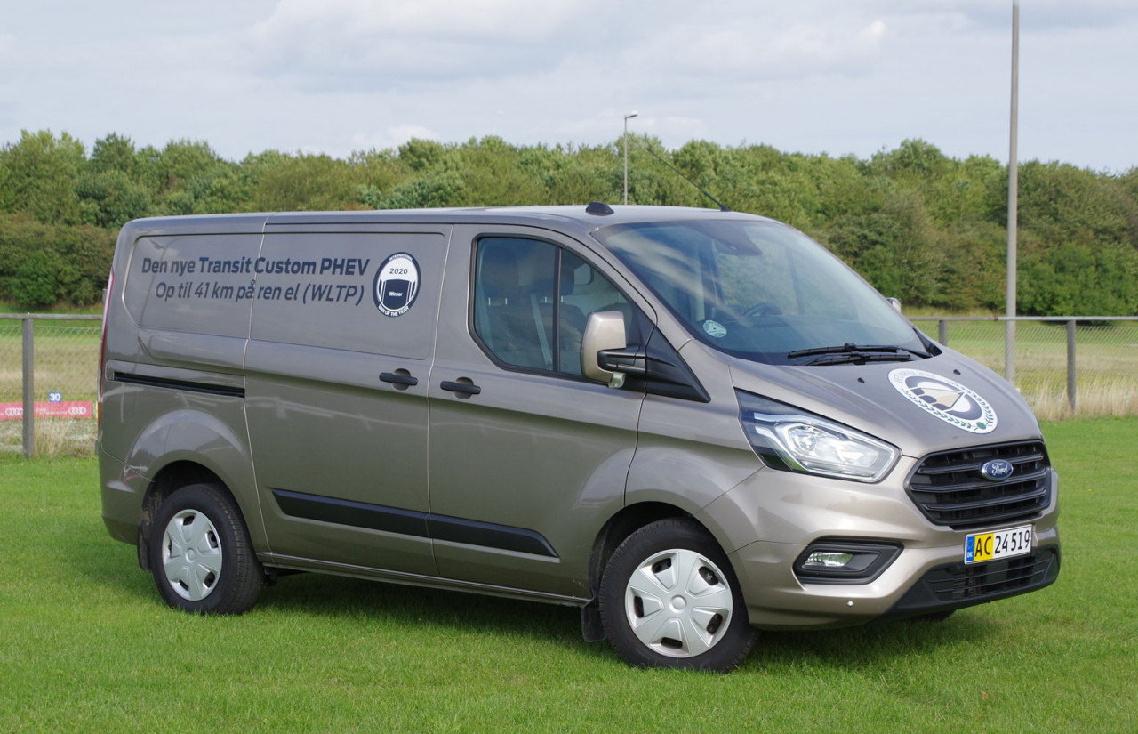 Årets Varebil: Ford Transit Custom Plug-in